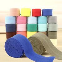 10 Yards Bias Binding Elastic Tape Trims Ribbon Sew DIY Strap Webbing Edge Decor