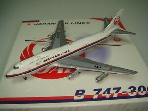 "Bigbird 500 Japan Airlines JAL B747-300 ""1970s color"" 1:500"
