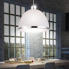 Suspension lustre luminaire plafond anneau nickel mat salle à manger cuisine