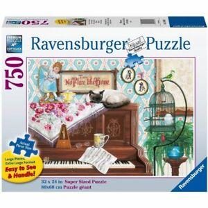 Ravensburger - Piano Cat Jigsaw Puzzle 750pc Large Format