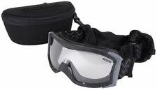Bolle X1000 Tactical Safety Goggles Black Frame Clear Anti-Fog Lens