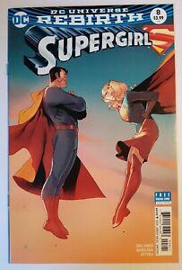 SUPERGIRL #8 - BENGAL VARIANT COVER - DC COMICS 2017 - NEW NM UNREAD