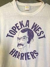 Vintage Topeka West Harriers Cross Country Track Coach T-Shirt Joe Schrag Kansas