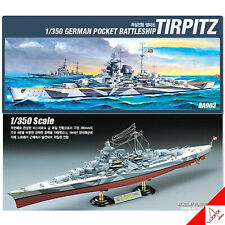 ACADEMY 1/350 TIRPITZ German Battleship Plastic Model Kit #14111
