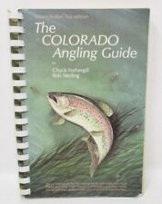 Colorado Angling Guide First Edition Autographed Fishing Book 1985