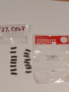 8x OEM Homelite Low Profile 3/8 .050 Chain Preset Tie Kits 37C50-8 H1-92008-C