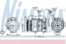 New Compressor air conditioning for TOYOTA 89516 Nissens Top Quality