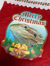 Bearded Dragon Lizard Reptile Exotic Pet Animal Holiday Christmas Stocking