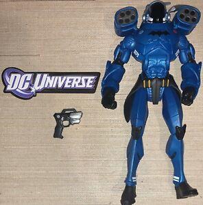 DC Multiverse Batman GCPD Exo Suit Rookie Build A Figure BAF 100% Complete