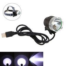 USB 5V 5000Lm XML T6 LED Cree Headlamp Linterna Para Bicicleta Luz Delantera