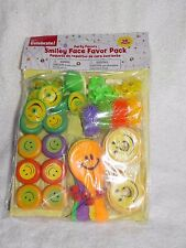 Way To Celebrate SMILEY FACE Party Favor Pack 48 Pieces New