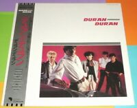 DURAN DURAN Debut First Album Original JAPAN Vinyl LP With Insert & Silver OBI