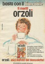 X7855 ORZOLI - Rosseau prodotti alimentari - Pubblicità 1977 - Vintage Advertis.