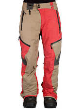 686 Glacier Synth Thermagraph Snowboard Pant (L) Tobacco Heather Twill