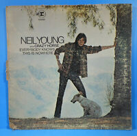 NEIL YOUNG EVERYBODY KNOWS THIS IS NOWHERE 1969 RE '70 NICE CONDITION! VG/VG!!B