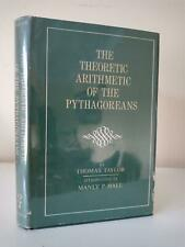 MANLY P. HALL, Thomas Taylor, Pythagoreans, Mystic Numbers, Neoplatonism, Occult
