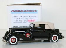 MINIMARQUE 1/43 GRB91A 1933 V16 CADILLAC VICTORIA ROBERT MONTGOMERY ROOF UP VER
