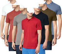Jack & Jones Mens Slim Fit  Polo Shirt Collared Basic T-Shirt In Various Colours
