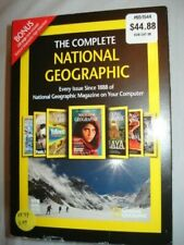 The Complete National Geographic Since 1888 Dvd-Rom Brand New Windows / Mac