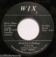 RAY SMITH-Whole Lot Of Shaking Going On-Great Rockabilly 45-WIX #W-102