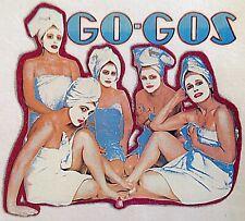 Original Vintage Go-Gos Iron On Transfer 80's Music Band