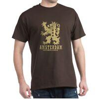 CafePress Amsterdam Netherlands Dark T Shirt 100% Cotton T-Shirt (694502143)