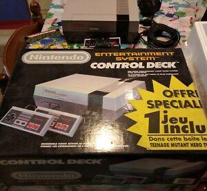 Nintendo Nes complète dans boîte d'origine