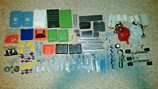 1987 Laser Erector Set Laserplex Combat Station - No. 7329 + More Erector Parts