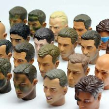 """1/6 Scale Head Sculpt Military Soldier Accessories For 12"""" Action Figure Toy UK"""