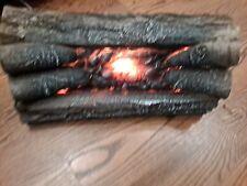 NOS, NEW,, Pyromaster 20 In. Electric Crackling Oak Log Set, #CLO-20