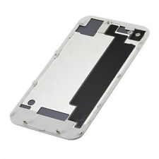New White Replacement  Battery Cover Back Door Rear Glass For iPhone 4S A1387