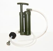 Micro Ceramic Water Pump Filter with Case for Camping Backpacking 2000L Capacity