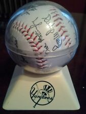 1984 NY Yankees Team Ball