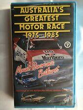 1975 - 1985 AUSTRALIA'S GREATEST MOTOR RACE ~ MOUNT PANORAMA BATHURST~ VHS VIDEO