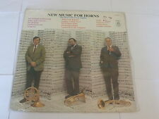 THE HORN CLUB OF LOS ANGELES - New music for Horns - USA 8-track LP