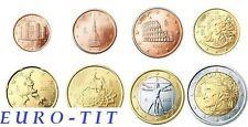 ITALIE   2015   LA  SERIE  DES  8  PIECES   NEUVES    2015   NOUVEAU  2015