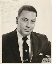 Earl Wilson Signed Photo Autographed 8x10 COA R4/18 Columnist Ny Times