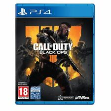 Activision Call of Duty Black Ops 4 Standard Edition Playstation 4 PS4 Game 18+