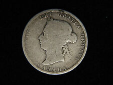 1883-H Canada 25 Cents - Silver