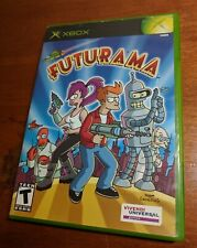 Futurama (Microsoft Xbox, 2003) Disc & Case - Tested & Working - No Manual