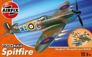 AIRFIX QUICKBUILD SUPERMARINE SPITFIRE AFJ6000 AIRCRAFT AIRPLANE PLANE AIRSHIP
