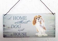 Cavalier King Charles Spaniel, Dog House e home PLACCA altre razze disponibili