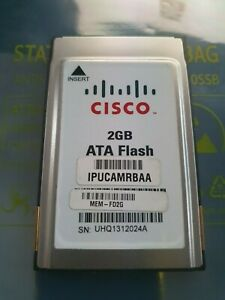 Cisco 16-3524-01 MEM-FD2G 2GB PCMCIA ATA Flash
