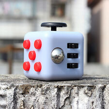 High Quality Rubber Coated Matt Finish Fidget Cube To Remove Stress & Anxiety