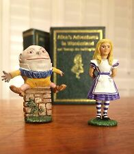 Hand Painted Alice In Wonderland And Humpty Dumpty