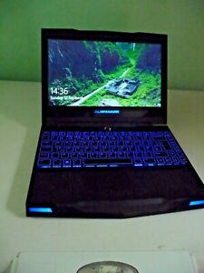 Alienware m11x R3 i7-2617M CPU Nvidia GT 540M GPU 256Gb SSD