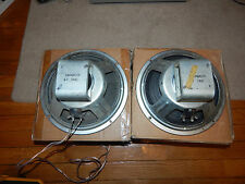 "Vintage Pair of Eminence 10"" 16 ohms Speakers"