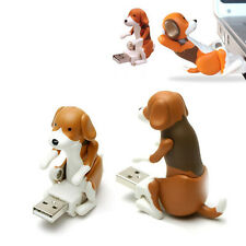 NEW Funny Cute pet USB Humping Spot Dog Toy Christmas Gray Gift for PC Laptop