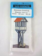 More details for banta modelworks ho / oo scale model kit scenery elevated crossing shanty c&nw