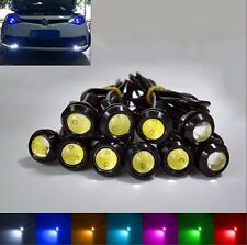 2pcs 9W 7 Colors LED Eagle Eye Car Light Fog Reverse Signal Daytime Running Bulb